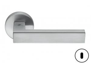 Maniglia per porta Elle rosetta foro patent cromat Colombo Design BD11 R