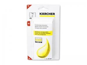 Detergente per vetri Karcher concentrato 4x20 ml
