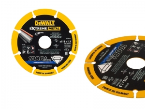Disco smerigliatrice Extreme Diamond taglio metallo diametro 115 mm spessore 1,3 mm DeWalt DT40251