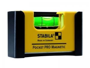 Livella tascabile con doppio magnete Stabila